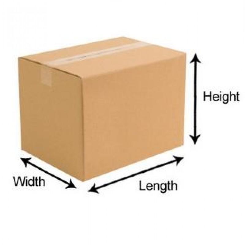 Length by Width Order Length x Width x Depth