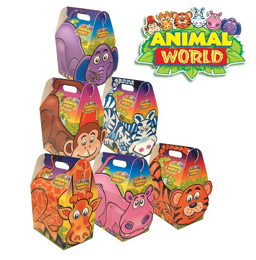 Kids Party Boxes Animal World R R Packaging