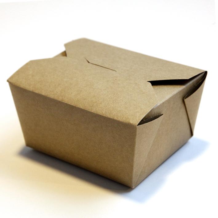 Brown Kraft Food Box 1x450 R R Packaging