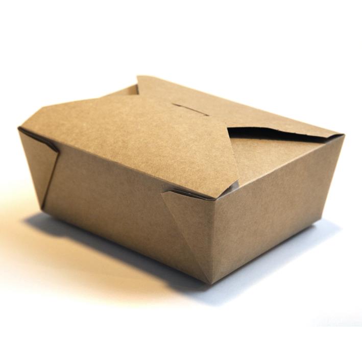 Brown Cardboard Food Box No 8 R R Packaging