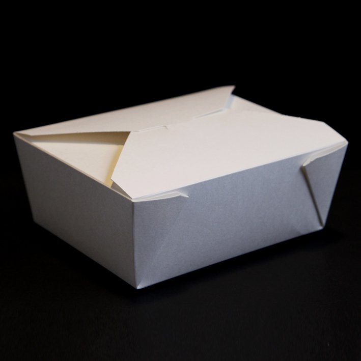 White Cardboard Food Box No 8 R R Packaging