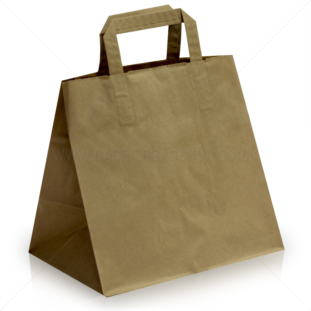 Brown Patisserie Takeaway Bags With Handles R R Packaging