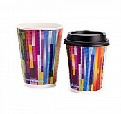 8oz All Seasons Double Wall Embossed Cups x 500