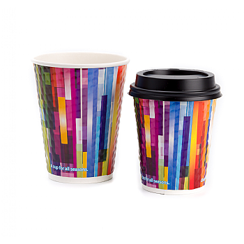 16oz All Seasons Double Wall Embossed Cups x 500