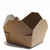 Brown Kraft Food Box No.8 x 300