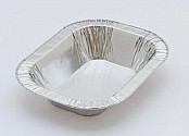 Oval Rolled Edge Pie Foil