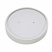 12oz (355ml) White Heavy Duty Paper Lid x 500
