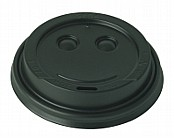 Black Travel Sip Lids 8 oz x1000