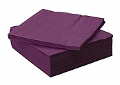 Purple 33cm Napkins / Serviettes