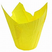 Yellow Tulip Muffin Cases 175mm x 3000