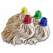 Push Socket Mop Head Green