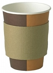 10 / 16oz Coffee Clutch Cup Sleeve x 2000
