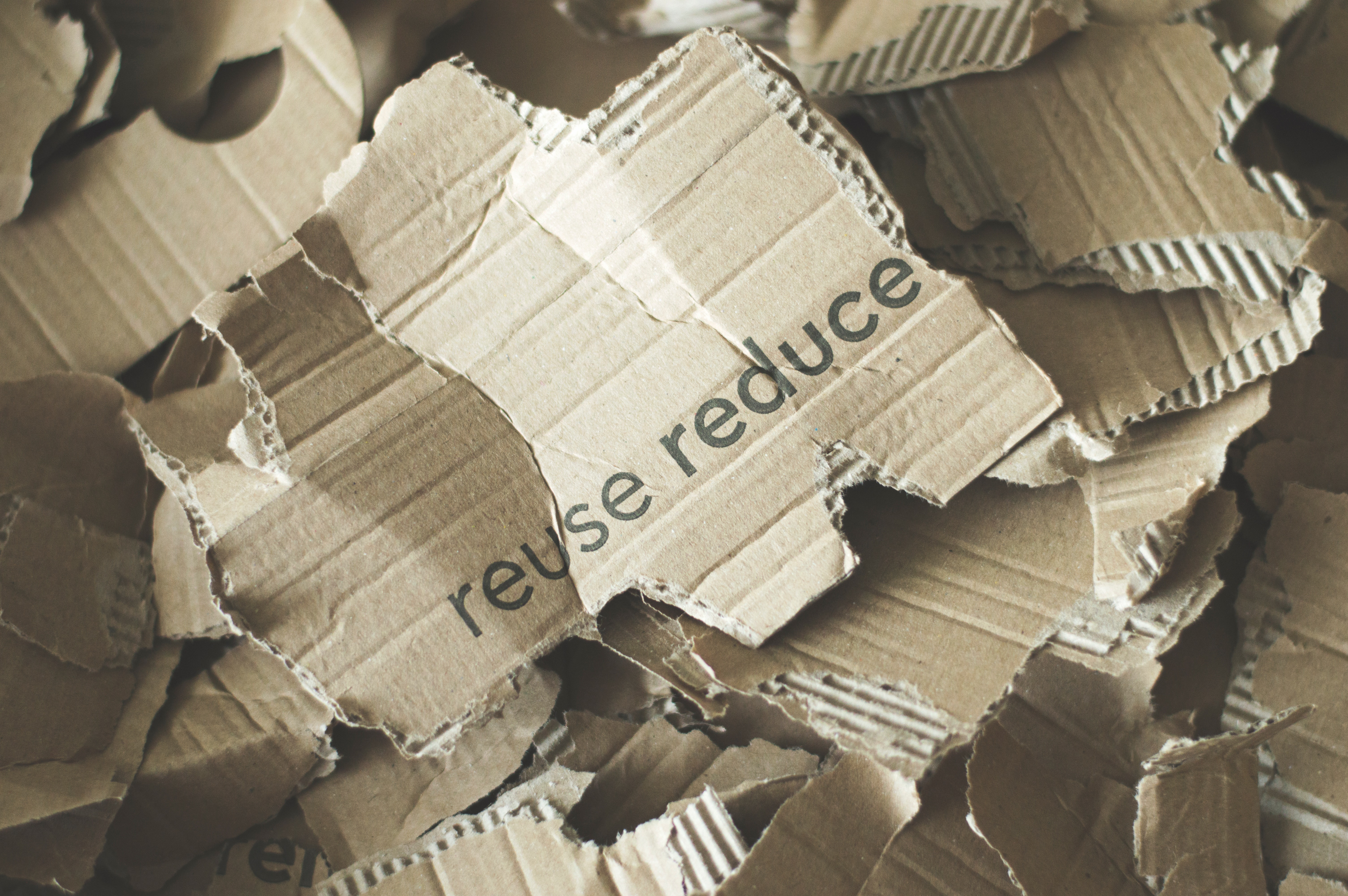 reduce reuse recycle packaging