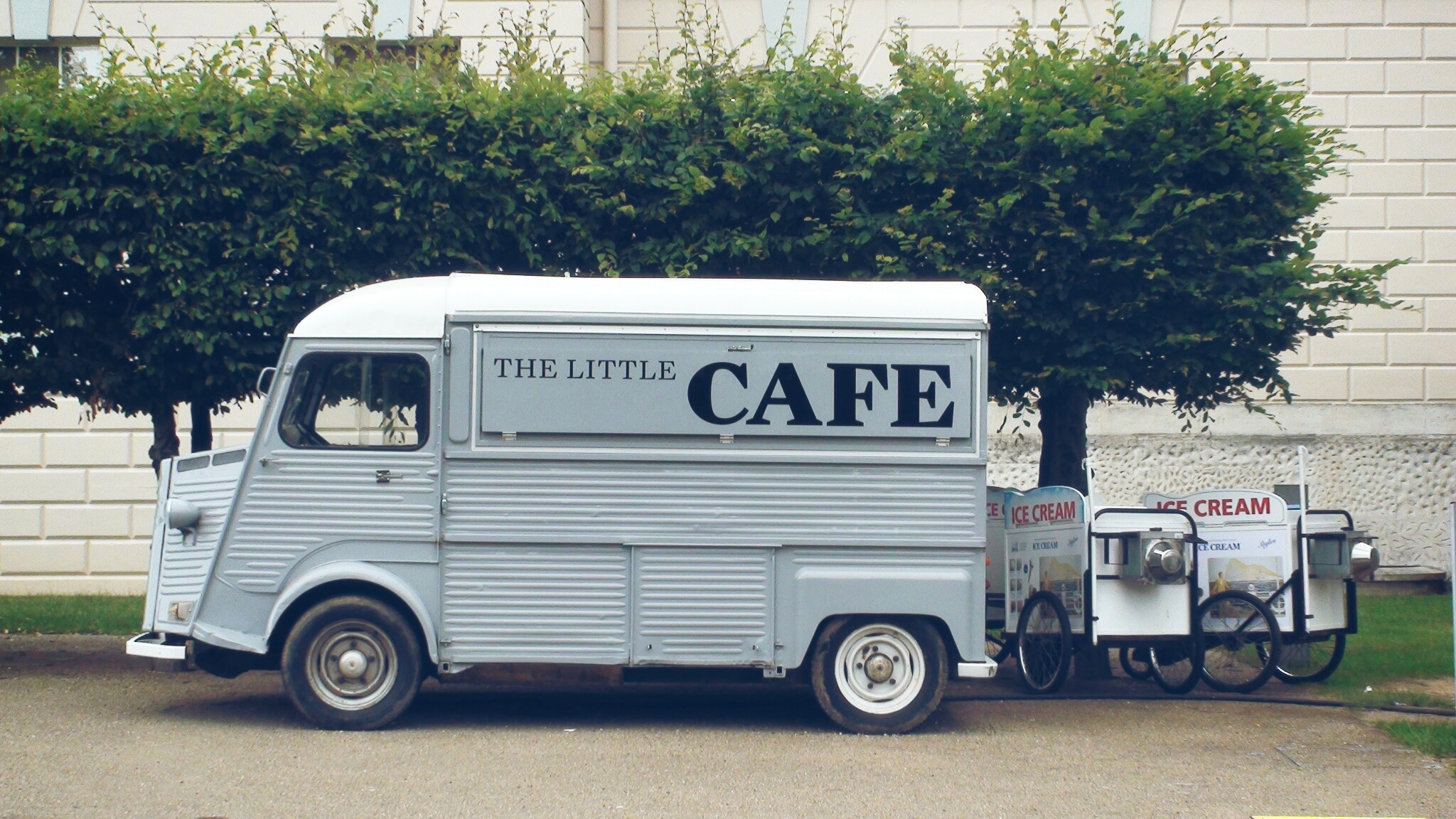 small cafe van
