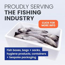 Packaging for the fishing industry