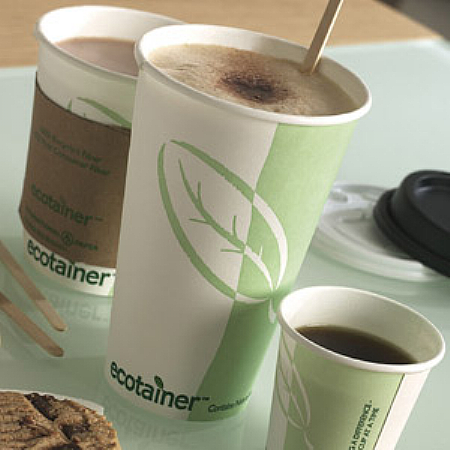 Ecotainer Hot Cup 8oz