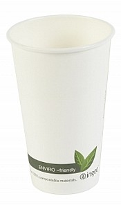 Biodegradable Paper Hot Cups 16oz
