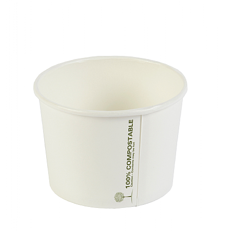Compostable Ingeo Soup Container 8oz x 1000