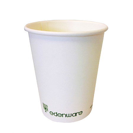 Edenware White Hot Cup Single Wall 8oz x 1000