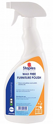 Furniture Polish 750ml Spray Bottle