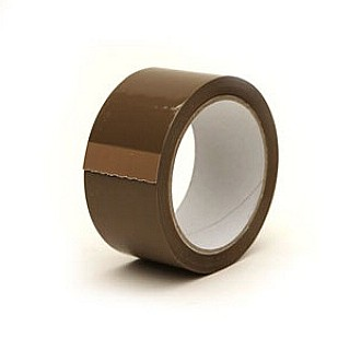 Heavy Duty Brown PVC Packaging Tape 48mm
