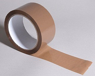Brown Poly Prop Packaging Tape 48mm