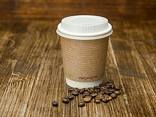 8oz Double Wall Brown Kraft Cup