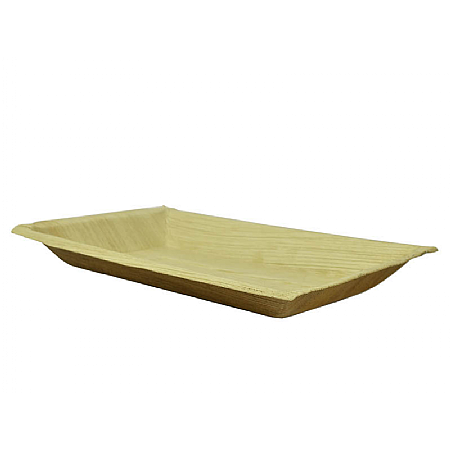 Palm Leaf Plate Rectangle x 100