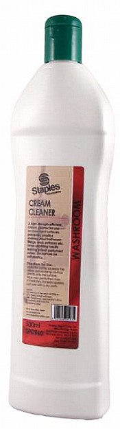 Cream Cleaner 500ml Squeezy Bottle