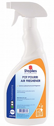 Potpourri Air Freshener Spray Bottle 750ml