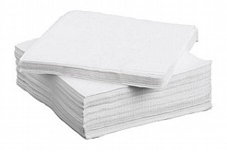 White 33cm Napkins / Serviettes x54 Boxes